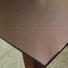 "Покрытие д/стола ""Table Mat"" Metallic кофе 80 см., TD 22-A041"
